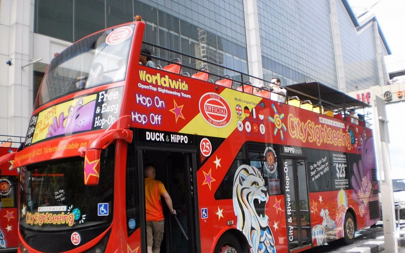 Hop-On-Hop-Off Singapore Bus Pass