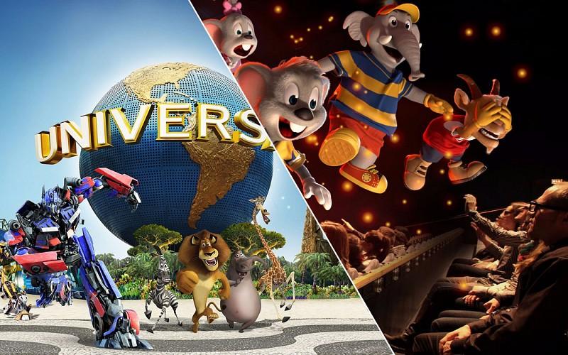 Universal Studios Singapore & Sentosa Fun Pass Combo