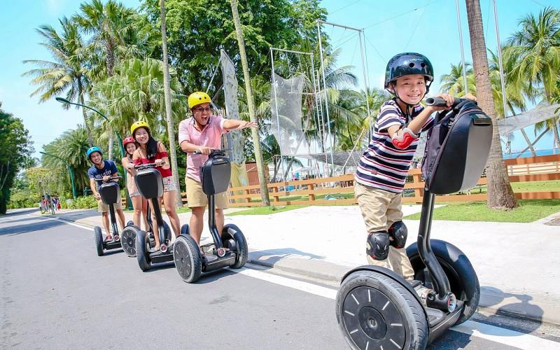 Go Green Segway Fun Ride Tour of Sentosa