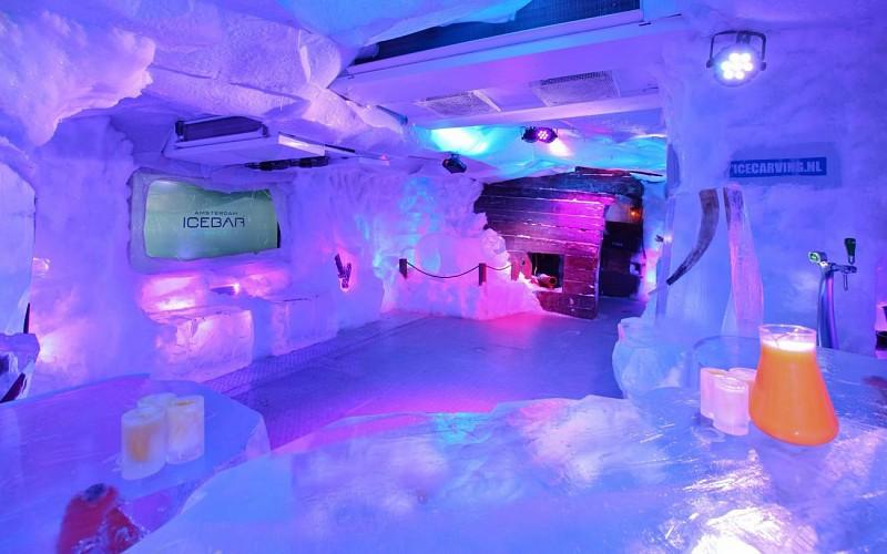 Amsterdam Icebar with Drinks