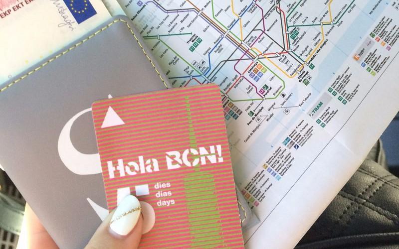 Hola Barcelona - Unlimited Public Transportation Ticket