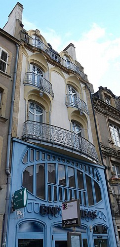 Façade Art Nouveau