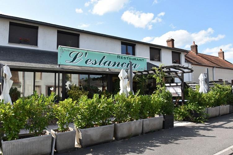 Briare - Restaurant l'Estancia-façade