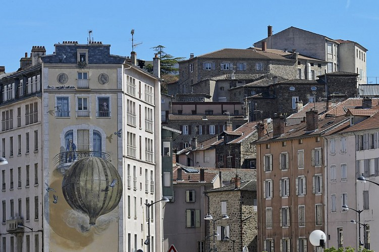 Historic center of Annonay