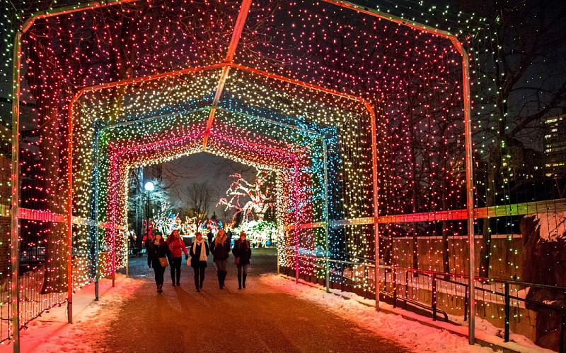 Holiday Lights and Movie Sights