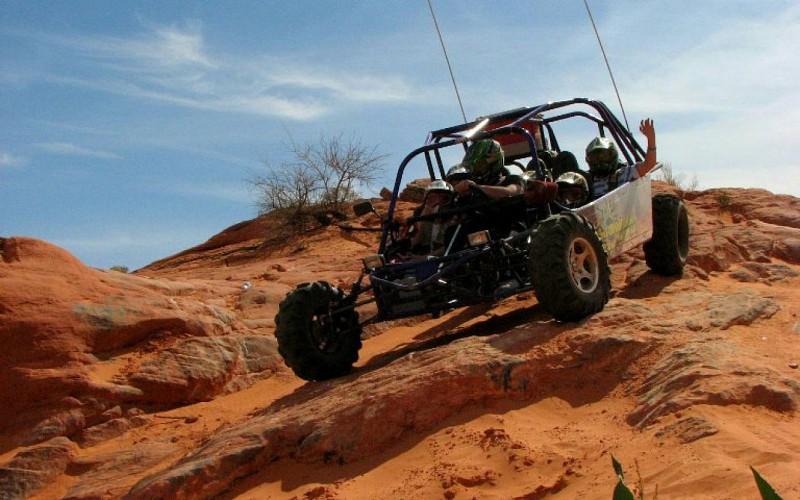 Mini Dakar Buggy Ride