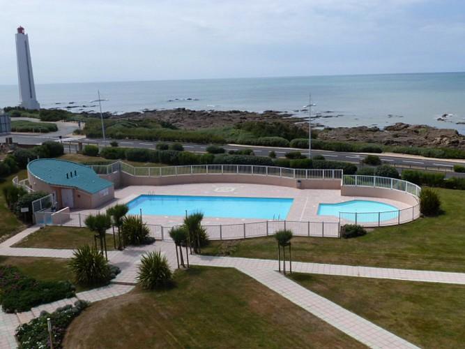 Belle résidence au calme avec vue mer