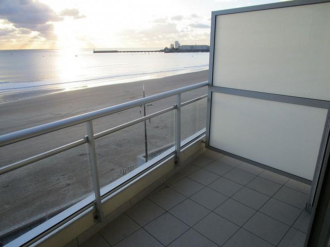 Studio face à la plage
