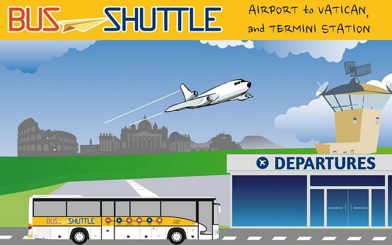 Ciampino Airport: Shuttle Bus to/ from Roma Termini