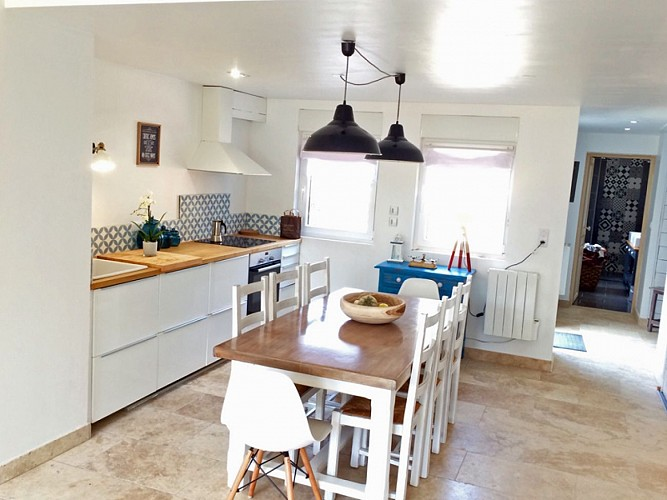 A charming family holiday home in Asnelles