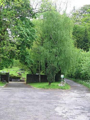 Le cimetière paysager