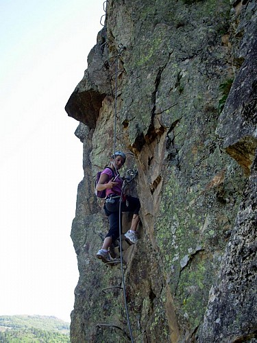 Via Ferrata (sport de grimpe/sport de corde)