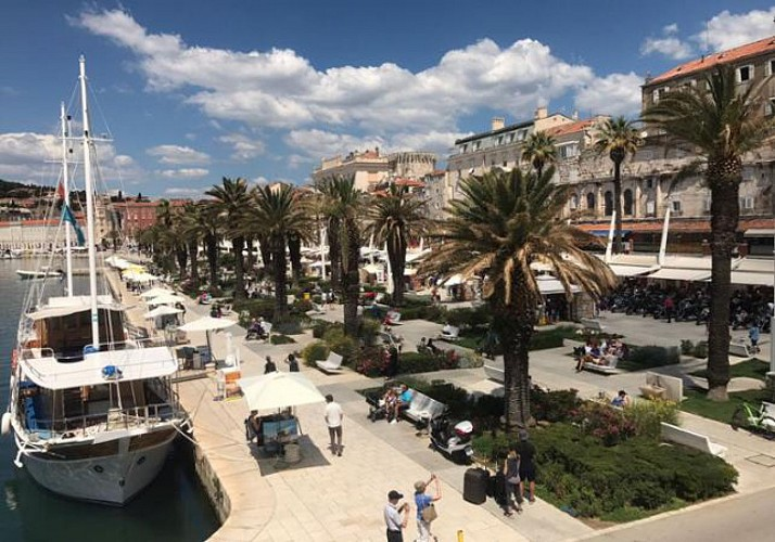 Guided visit of Split and of the Dioclétien Palace by foot