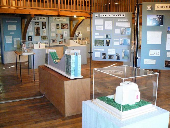 La Maison d'Expositions de l'Araire à Yzeron
