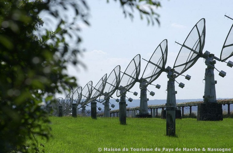 Humain - station de radioastronomie
