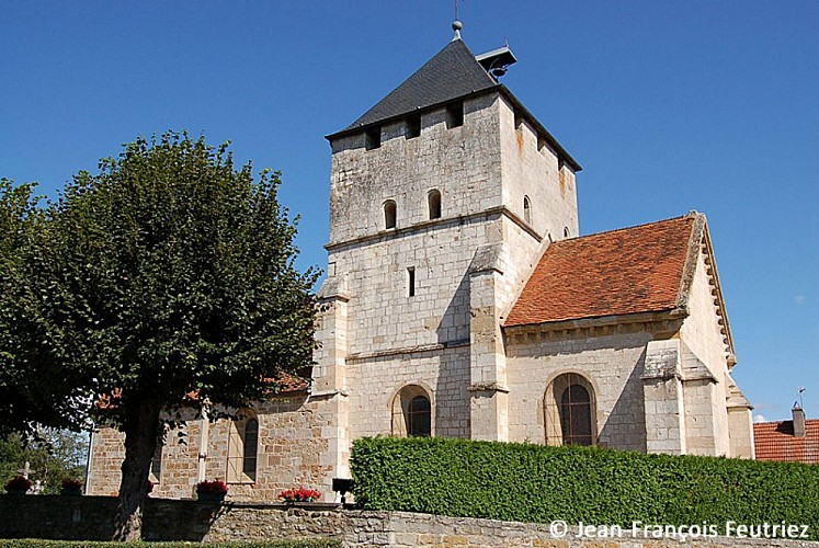 Eglise Saint‐Sébastien à Champigny‐les‐Langres