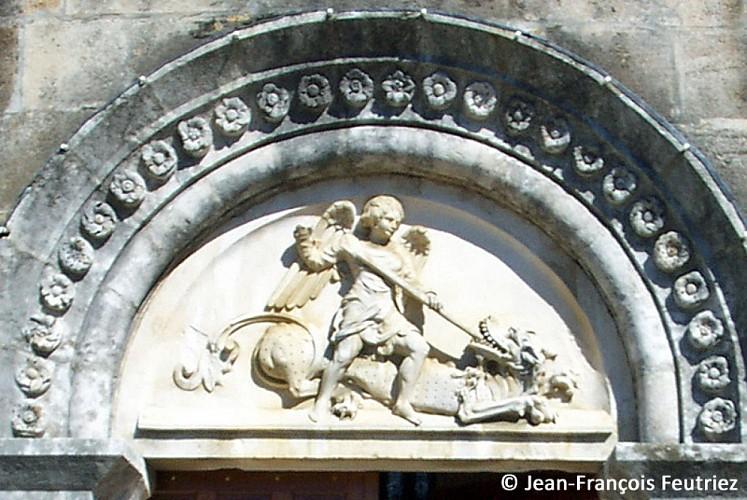 Eglise de Courcelles-Val-d'Esnoms