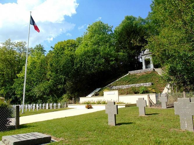 Nécropole allemande et française - German and french cemetery