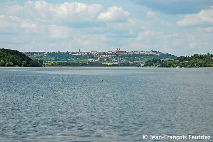 Le lac de la Liez