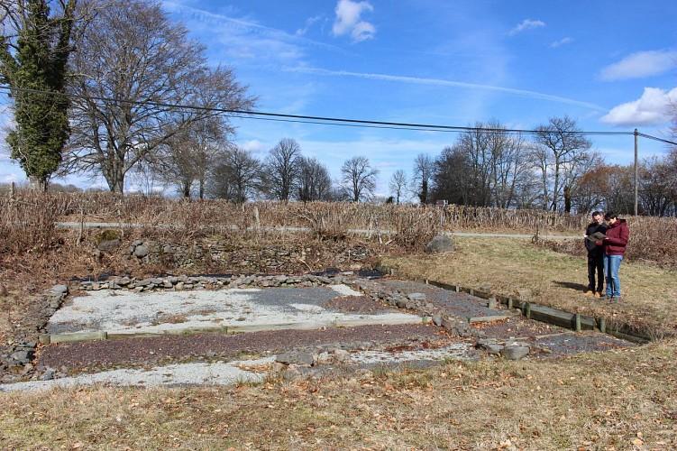 Le site gallo-romain de Beauclair