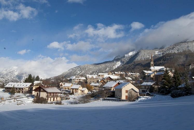 Village de Saint-Léger-les-Mélèzes