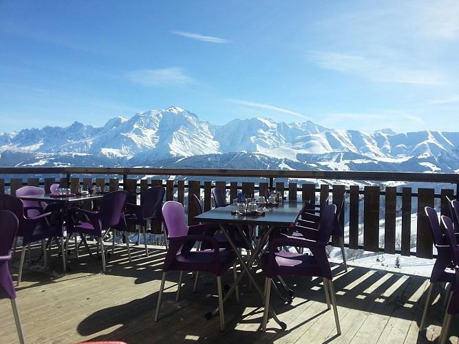 """Chalet des Bachais"" restaurant (on the slopes)"