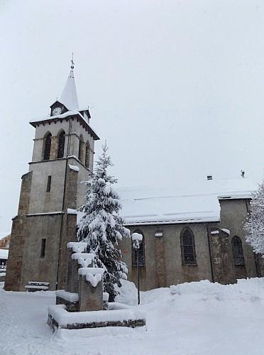 Crest-Voland church