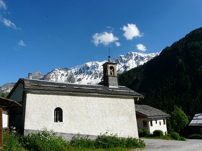 Sainte Marguerite Chapel, la Chenarie
