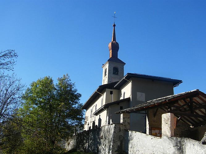 Saint Michel church, Landry