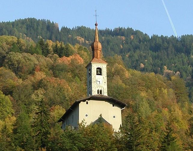 Saint Michel church, Landry