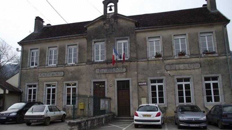 Parking de l'école/mairie