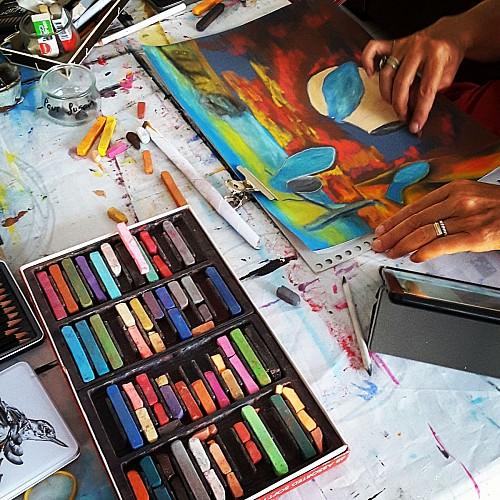 NADEJ ART - ATELIERS ARTISTIQUES MULTI-TECHNIQUES