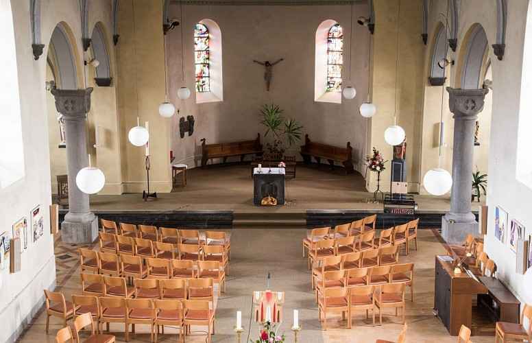 Eglise Saint-Remy à Ortho