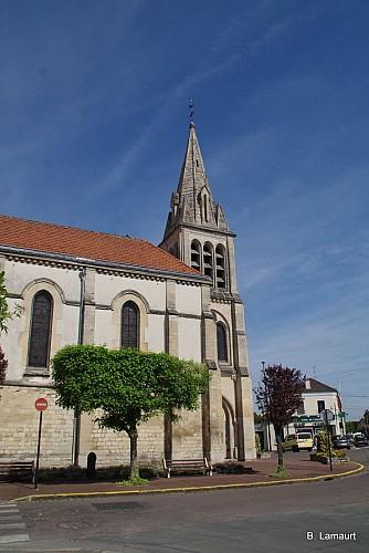 Eglise Saint-Henri et inondations de 1910