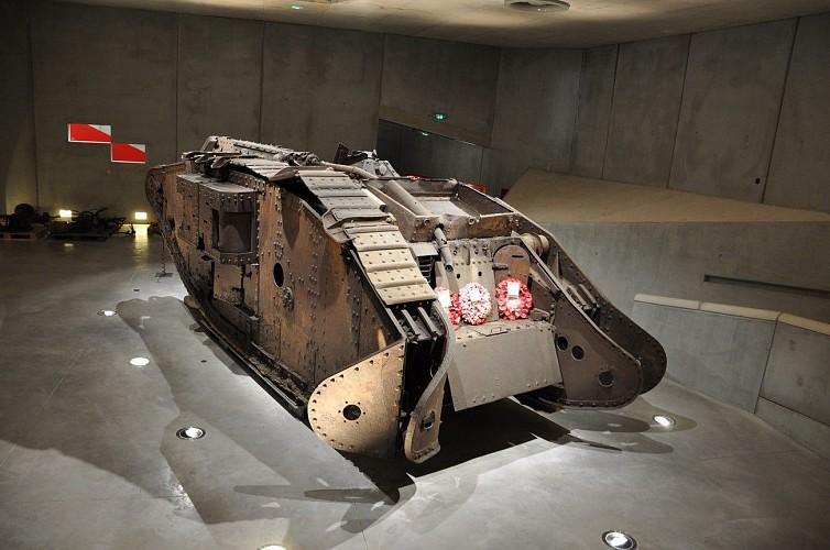 Flesquières Cambrai Tank 1917