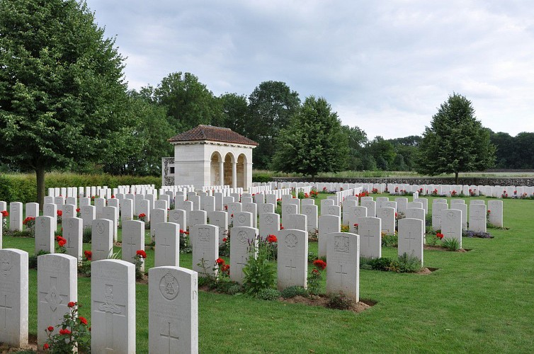 Flesquières British Hill Cemetery