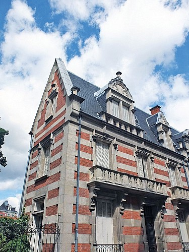 La rue Hubert Colombier