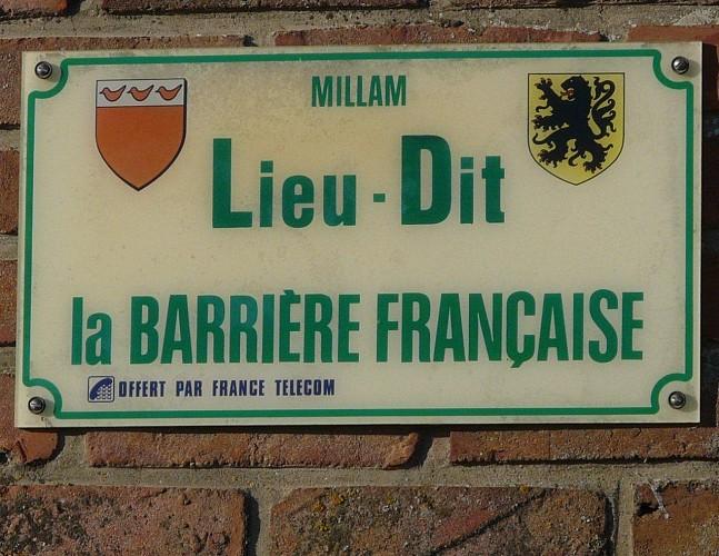 La barrière française