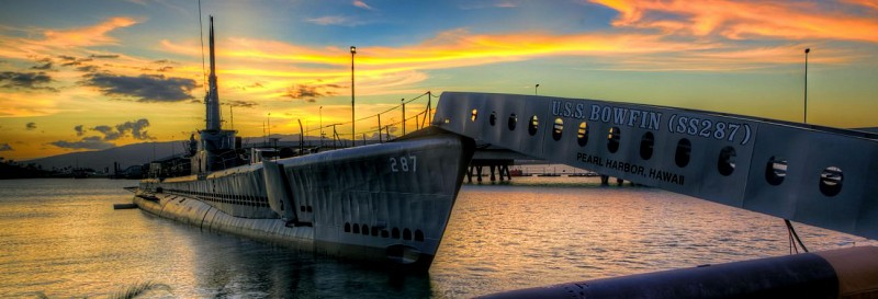 USS Bowfin Ticket - WWII Submarine at Pearl Harbour - Honolulu, Oahu