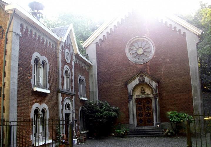 La chapelle Notre dame des bois bénits