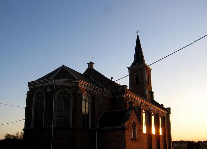 Eglise Sainte Julienne (voie des chanoines, Retinne)