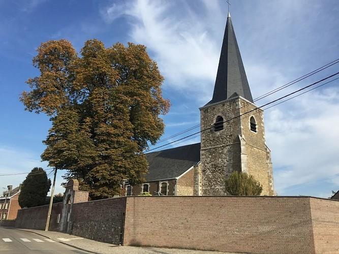 L'église Sainte-Agathe