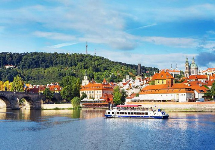 Croisière panoramique sur la Vltava - 1h - Prague