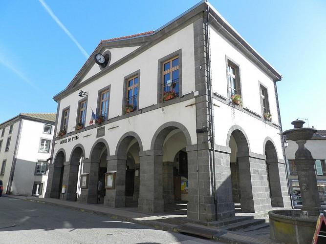 Centre historique de Pontgibaud