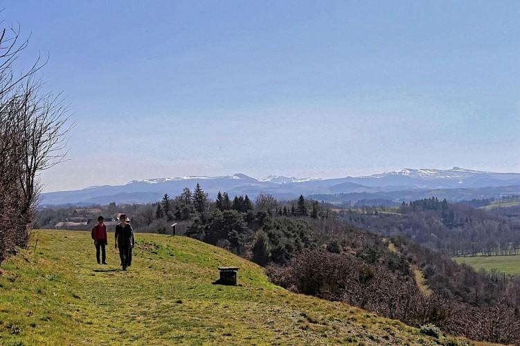 Butte volcanique de Saint-Pierre-le-Chastel