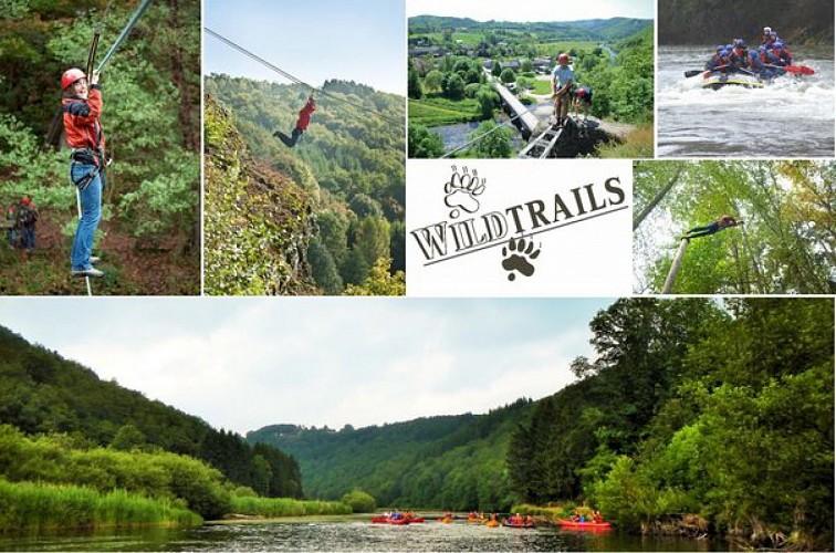 Wildtrails: Sports Adventure, Lasergame, kayak, rafting, spéléologie, ...
