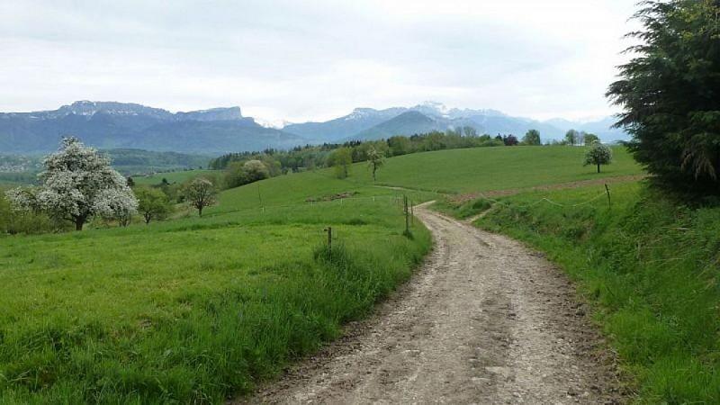 Point de vue du hameau de la Mandallaz