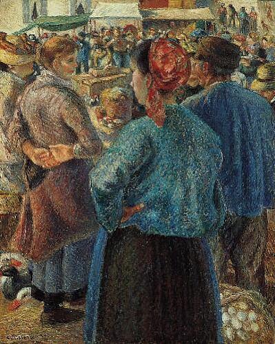 Le Marché aux volailles - 1882