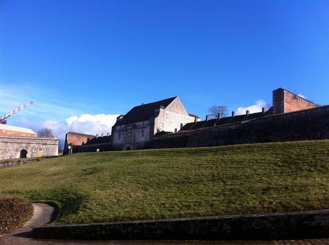 Arrivée à la Citadelle de Besançon