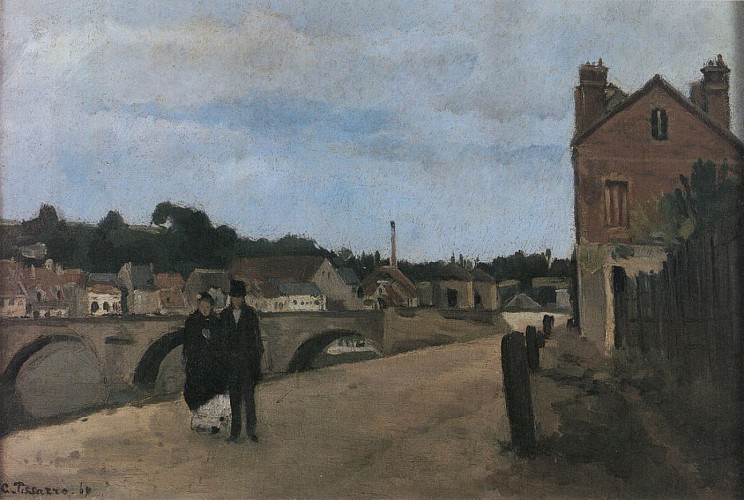 Vue du quai du Pothuis - 1868